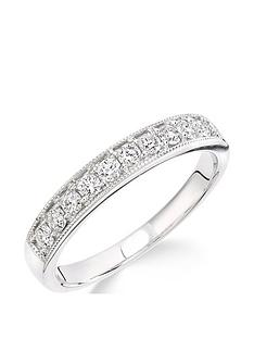 love-diamond-9ct-white-gold-33-point-millgrainnbspset-eternity-ring