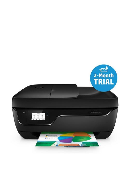 Officejet 3831 All-in-One Printer with Optional 302 Colour Combo Ink Pack  and Photo Paper (with FREE HP Instant Ink 2 month trial)