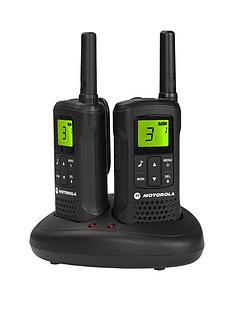 motorola-tlkr-t60nbsp8km-range-2-way-walkie-talkie-radio-twin-pack