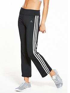 adidas-3-stripe-brushed-pants-black