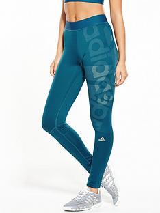 adidas-techfittrade-long-logo-tights-petrol-bluenbsp