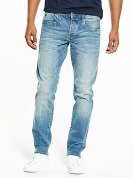 Scotch & Soda Ralston Regular Fit Scrape And Shift Jeans