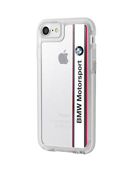 offical-premium-transparent-shock-proof-case-with-vertical-logo-amp-white-stripe-detail-for-iphone-7