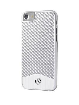 wave-v-official-premium-hard-shell-carbon-fibre-amp-brushed-aluminium-case-for-iphone-7-silver
