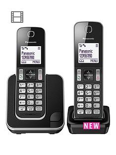 panasonic-kx-tgd312eb-digital-cordless-telephone-2-handsets