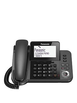 panasonic-kx-tgf320em-nbspdigital-answering-system-with-1-corded-handset-and-1-cordless-handset