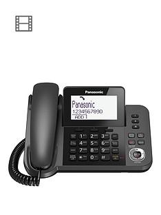 panasonic-panasonic-kx-tgf320em-nbspdigital-answering-system-with-1-corded-handset-and-1-cordless-handset
