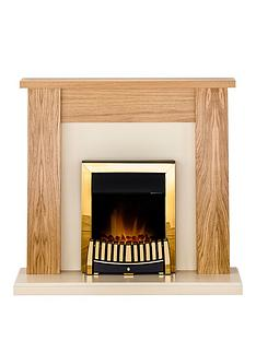 adam-fire-surrounds-new-england-fireplace-suite-in-oak-and-cream-with-elise-electric-fire-in-brass