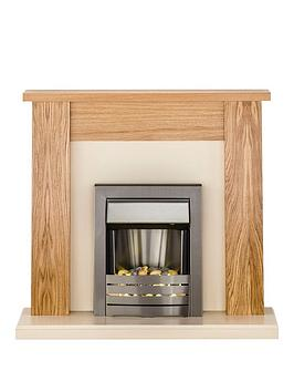 adam-fire-surrounds-new-england-fireplace-suite-in-oak-and-cream-with-helios-electric-fire-in-brushed-steel