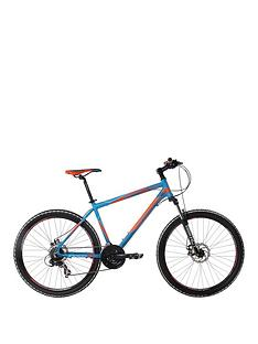 Indigo Descent Mens 21-Speed Dual Disc Mountain Bike