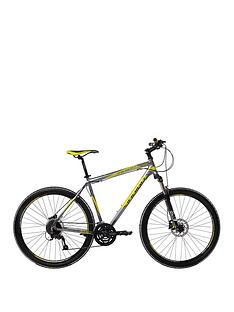 Indigo Transcend Mens 27-Speed Dual Disc Mountain Bike 17.5 inch Frame