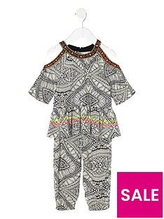river-island-mini-girls-printed-cold-shoulder-top-amp-jogger-outfit