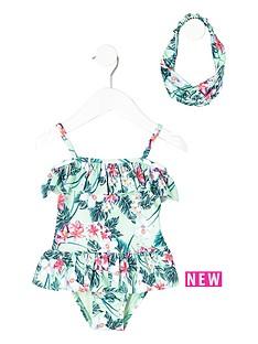 river-island-mini-girls-light-green-tropical-swimsuit