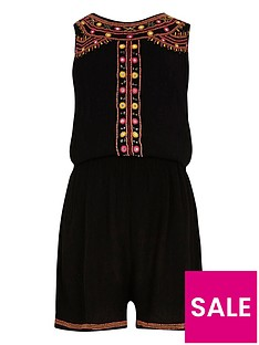 river-island-girls-black-embellished-sleeveless-playsuit