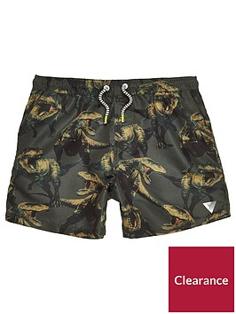 river-island-boys-khaki-green-dinosaur-print-swim-shorts