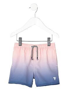 river-island-mini-boys-blue-dip-dye-swim-shorts
