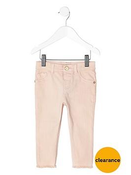 river-island-mini-mini-girls-light-pink-skinny-jeans