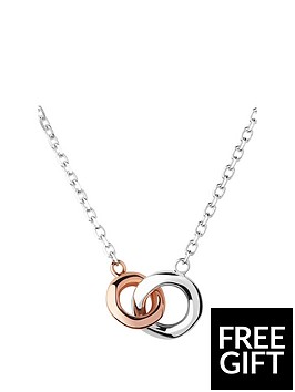 links-of-london-2020-sterling-silver-amp-18kt-rose-gold-mini-necklace