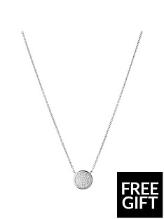 links-of-london-links-of-london-diamond-essentials-sterling-silver-amp-pave-round-necklace