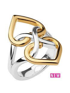 links-of-london-links-of-london-infinite-love-sterling-silver-and-18kt-gold-vermeil-ring