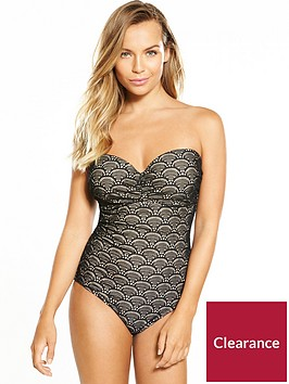 v-by-very-controlwear-underwired-bandeau-scallop-lace-swimsuit