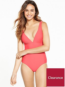 v-by-very-mix-and-match-low-v-swimsuit-coral