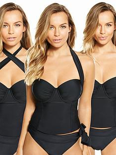v-by-very-controlwear-multi-way-underwired-tankini-top-black
