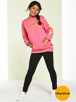 v-by-very-long-line-foil-hoody-and-legging-set