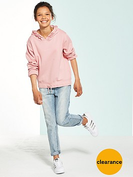 v-by-very-cropped-ruffle-hoodie