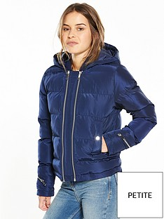 v-by-very-petite-zip-detail-padded-coat