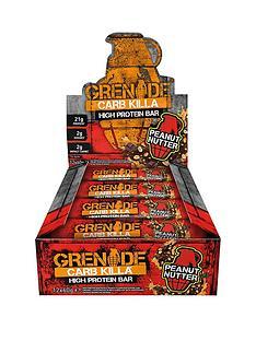 grenade-carb-killa-12-x-60g-bars-peanut-nutter