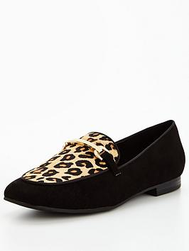 v-by-very-patsy-loafer-with-gold-trim-animal