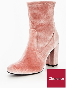 v-by-very-rebel-velvet-block-heel-ankle-boot-pink