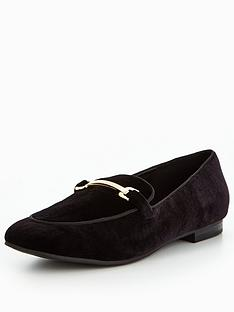 v-by-very-patsy-velvet-loafer-with-gold-trim-black