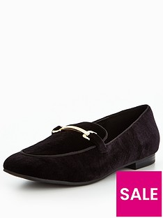v-by-very-patsy-velvet-loafer-with-gold-trim-black