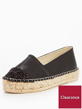 v-by-very-evelyn-glitter-toe-cap-espadrille-black