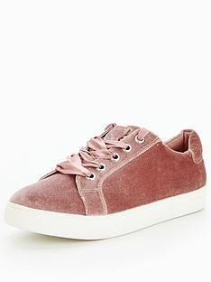 v-by-very-flash-velvet-trainer-pink