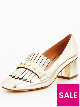 v-by-very-natalie-pearl-detail-heeled-loafer-gold-metallic