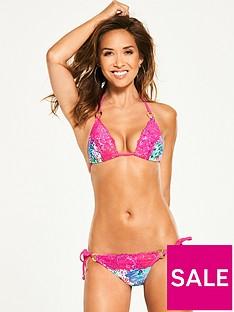 myleene-klass-lace-trim-triangle-bikini-set