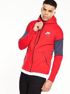 nike-air-full-zip-hoodie-rednbsp