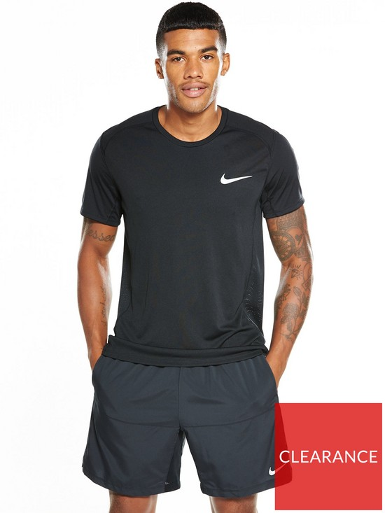 9f0bfb3a Nike Dry Miler T-Shirt | very.co.uk