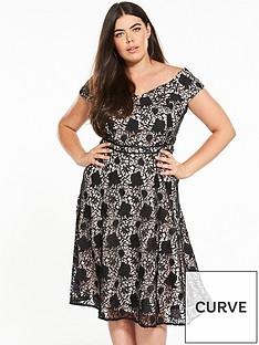 v-by-very-curve-lace-bardot-dress