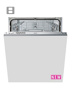 hotpoint-aquarius-ltb6m126uk-14-place-built-in-dishwasher-graphite