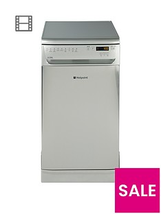 Hotpoint Ultima SIUF32120X 10-Place Dishwasher - Stainless Steel