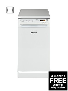 Hotpoint Ultima SIUF32120P 10-Place Dishwasher - White Best Price, Cheapest Prices