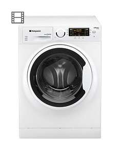 Hotpoint Ultima S-line RPD8457JUK1 8kg Load, 1400 Spin Washing Machine - White