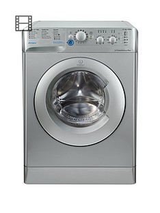 Indesit Innex BWC61452SUK 6kg Load, 1400 Spin Washing Machine - Silver