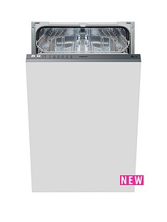 hotpoint-aquarius-lstb6m19-built-in-10-place-slimline-dishwasher-stainless-steel
