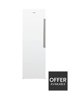hotpoint-sh61qw1-595cmnbspwide-167cmnbsptall-upright-fridge-white