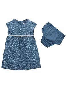 ladybird-baby-girls-patterned-woven-dress-and-knicker-set